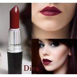 Make up mondays top five fall lip colors pflugerville for Mac cosmetics diva lipstick